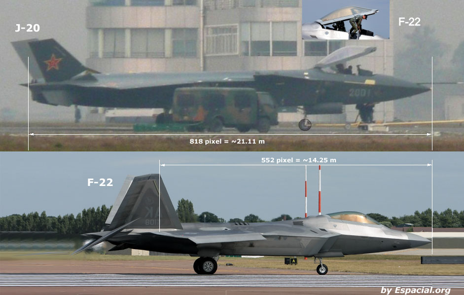 Chinese Chengdu J-20 stealth fighter - Page 7 J20f22comp
