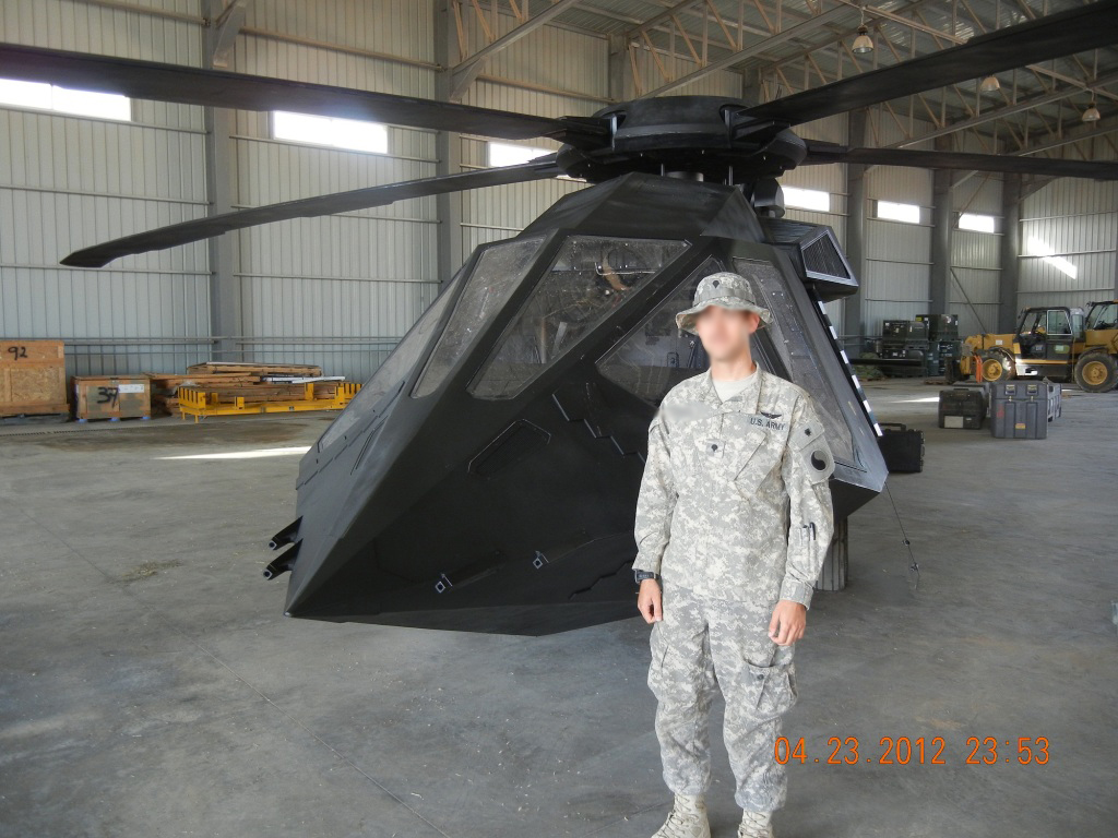 Real-world UH-60 Blackhawk?