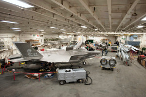 F-35B-in-Wasp-hangar